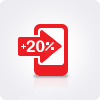 20% возвращаются за Домашний Интернет и Цифровое ТВ от МТС!